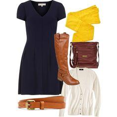 Yellow tights