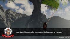 Podemos ver com mais detalhes a aventura do jovem Yann e seu buldogue Ani.  #SeasonsOfHeaven