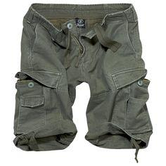 De Vintage Shorts van Brandit is de klassieker onder de cargo korte broeken. De broek is mechanisch bewerkt, dus de vintage-stijl shorts zien er gedragen en verwassen uit. Gemaakt van robuust katoenen materiaal. De grote zakken op de benen hebben extra opgenaaide insteekzakken bieden veel opbergruimte. De korte broek heeft schuin geplaatste insteekzakken en 2 achterzakken met knoopsluiting. Met snoerkoord in de taille en onder aan de pijpen.