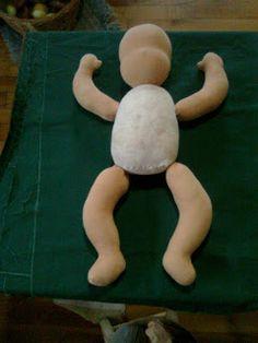Brincadeira de Lucinha: bonecos e bonecas waldorf em lã e malha de algodão - bom tutorial