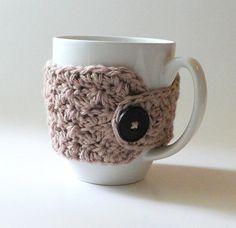 Mug Cozy - Soft Taupe
