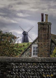 Windmill at Rottingdean, England