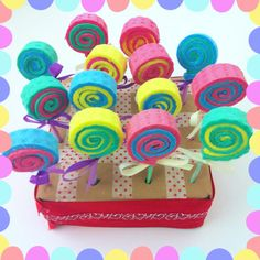 lollipop cake pops