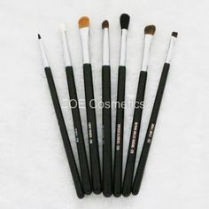 100% Brand Quality SGM 7pcs Eyes Makeup Brush Set Basic Makeup Eyes Kit Eyeshadow Blending Pencil Eyeliner Brush Set