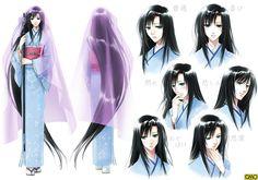 anime kimono princess - Google Search
