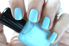 Zoya Spring 2015 Swatches Delight Rayne Blue Metallic Shimmer Nail Polish