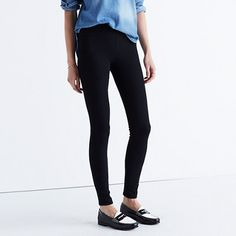 Sleek, stretchy pull-on jeans designed to wear, well, absolutely anywhere. Using…