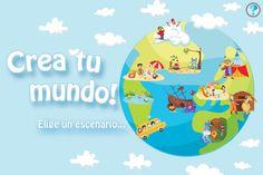 Crea tu mundo  https://itunes.apple.com/es/app/crea-tu-mundo!+/id451598246?mt=8