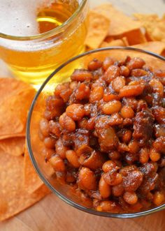 Real Baked Beans with Bacon & Beer