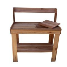 4 Ft. X 2 Ft. Western Red Cedar Potting Bench