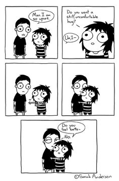 Saras Scribbles Funny Quotes Funny Pictures Funny Images Sarah See Andersen Sarah