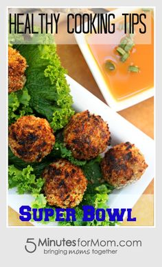Healthy Food Tips for the Super Bowl