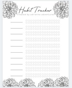 Bullet Journal 50 Page Ideas, Bullet Journal Notes, Bullet Journal Printables, Bullet Journal Layout, Bullet Journal Inspiration, Planner Pages, Printable Planner, Bullet Journal Workout, Monthly Budget Template