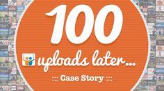 100 Uploads Later - @empoweredpres Case Story by Empowered Presentations   Design   Workshops   Training   Retreats via slideshare