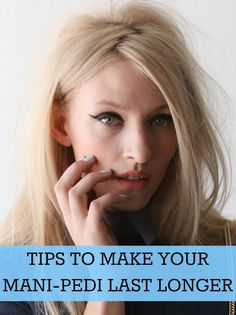 Tips to Extend the Life of Your Mani/Pedi - With spring finally here, we're ready to break out our fresh bright manicures and pedicures, but is there anything more frustrating than investing an afternoon at the salon only to see our nails chipped the very next day? Keep those nails looking glamorous as long as possible with these expert tricks and tips.