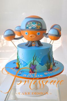 The Octopod Cake - Cake by Tortissime Cake Design