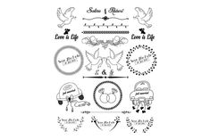 Wedding Ornament, Wedding Card Templates, Business Flyer, Bullet Journal, File Format, Ornaments, Illustration, Cards, Check