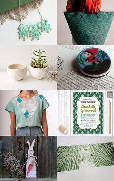 Springs ever green by Mammabook on Etsy--Pinned with TreasuryPin.com