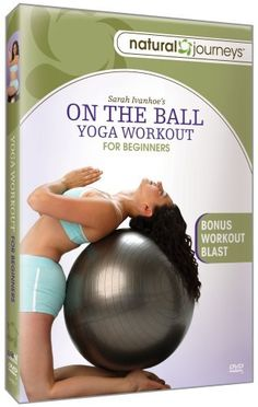 On The Ball: Yoga Workout For Beginners DVD ~ Sara Ivanhoe, http://www.amazon.com/dp/B00109KN7U/ref=cm_sw_r_pi_dp_QXC0rb1KX2CTH