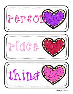 Valentine's Day Noun Sort Practice