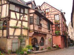 Riquewihr (Alsace): maison alsacienne à colombages By 'Arnaud 25'