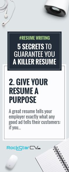 How to write a killer resume and cover letter that gets you noticed - how to write a killer resume
