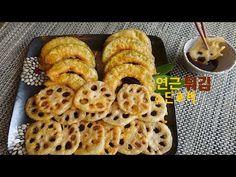Korean Street Food, Korean Food, Waffles, Fries, Pineapple, Appetizers, Cooking Recipes, Dishes, Baking