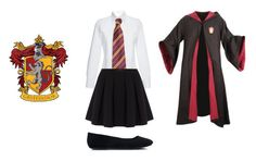 """""""GRYFINDOR4EVER"""" by books-and-coffee-are-life on Polyvore featuring beauty, Stella Jean, Polo Ralph Lauren and topic"""