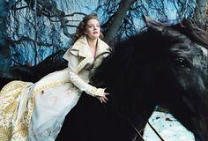 Annie Leibovitz Disney Dream Portrait: Drew Barrymore as Belle