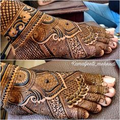 Find out the best bridal mehndi designs for foot and legs. Choose from the easy mehndi design images shown here with different patterns of floral, peacock, leaf-like. Leg Mehendi Design, Leg Mehndi, Mehndi Designs Feet, Indian Mehndi Designs, Mehndi Designs 2018, Modern Mehndi Designs, Mehndi Designs For Girls, Mehndi Design Photos, Mehndi Images