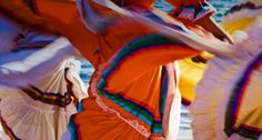 Close-up of traditional dancers in Guaymas, Sonora, Mexico (© Radius/Superstock)