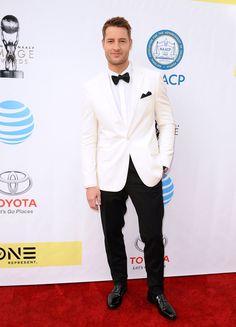 PASADENA, CA - FEBRUARY 11:  Actor Justin Hartley attends the 48th NAACP Image Awards at Pasadena Civic Auditorium on February 11, 2017 in Pasadena, California.  (Photo by Jason LaVeris/FilmMagic) via @AOL_Lifestyle Read more: https://www.aol.com/article/entertainment/2017/02/12/bafta-awards-2017-red-carpet-arrivals/21712310/?a_dgi=aolshare_pinterest#fullscreen