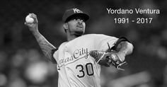 Kansas City Royals pitcher Yordano Ventura, 25, and former player Andy Marte, 33, died in unrelated car accidents on Sunday in the Dominican Republic. The baseball community shared its thoughts and prayers on Twitter.  Official statement from the Kansas City Royals organization. pic.twitter.com/AgInmjHWAB
