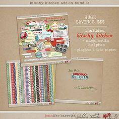 The Lilypad :: Kits :: Kitschy Kitchen by Sahlin Studio and Jennifer Barrette