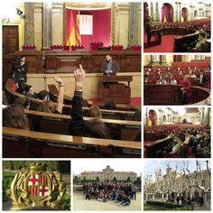 Visita al Parlament de Catalunya. Àmbit Socials. 3r d'ESO.