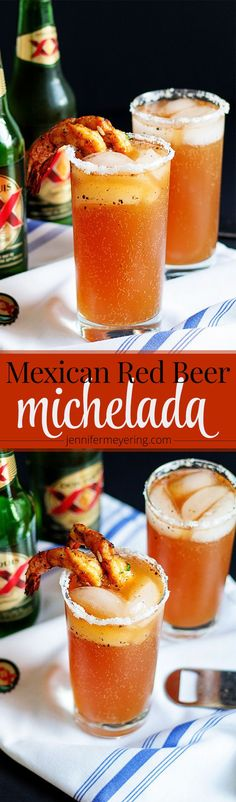 According to Wikipedia, a michelada is a Mexican cerveza preparada made with beer, lime juice, and assorted sauces, spices, and peppers. It's traditionally served in a chilled, salt-rimmed glass. Some people in Mexico believe micheladas are a good remedy for…