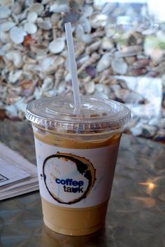 Coffee Tauk, Montauk. Dreaming of their chickory iced coffees.