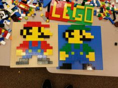 who knew that you could do all this with legos!