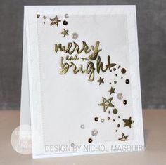 Essentials by Ellen Clear Stamps, Brushstroke Christmas by Julie Ebersole