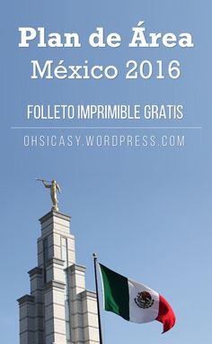 Tríptico a color con la información del Plan de Área México para este año.  ¡Imprimible gratis! :D Visita ohsicasy.wordpress.com