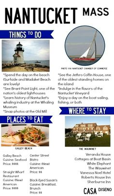 A Taste of Travel: Taking a Trip to Nantucket #nantucket #travel #vacation