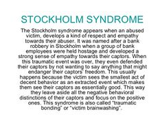 stockholm syndrome - Google Search