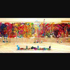 Abstract Expressionisme •Heftig kleurgebruik •Grote contrasten •Vanuit het gevoel
