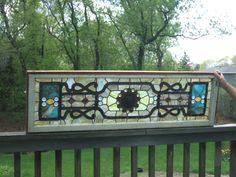 Victorian Stained Glass Window 1880 - 1900 | eBay