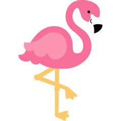 elegant pink flamingo clip art binatang pinterest pink rh pinterest com flamingo clip art images flaming clipart