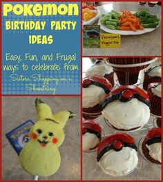 Pokemon birthday.  My son absolutely loves Pokemon, so when he turned 8, a Pokemon Birthday Party was the obvious choice. We used a few cute and simple Pokemon party ideas that I thought would be fun to sharethey made the party theme stand out without sp