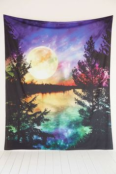 Magical Thinking Moon Lake Tapestry - Urban Outfitters