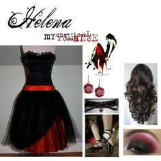 My Chemical Romance Helena's Dress, I want this so bad. I'd wear it so often!