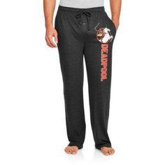 Deadpool Graphic Men's Sleep Pant, Size: XL, Black