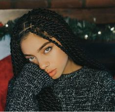 Top 60 All the Rage Looks with Long Box Braids - Hairstyles Trends Box Braids Hairstyles, Girl Hairstyles, African Hairstyles, Senegalese Twist Hairstyles, Senegalese Twists, Hairstyles 2016, Updo Hairstyle, Black Hairstyles, Wedding Hairstyles